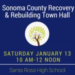 Sonoma County Recovery town hall