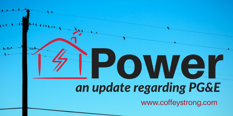 Power update regarding PG&E