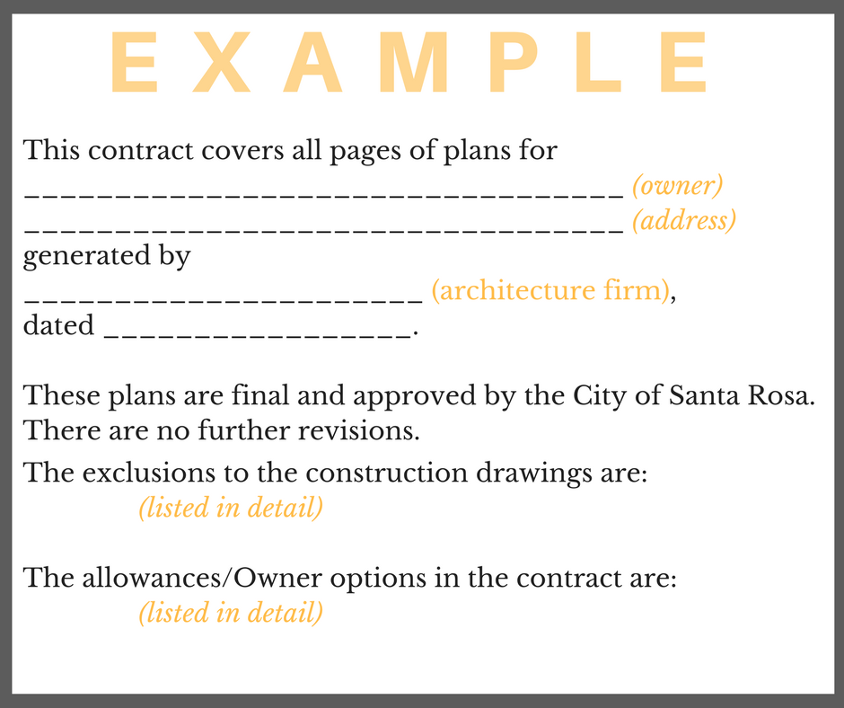 contract language example 1