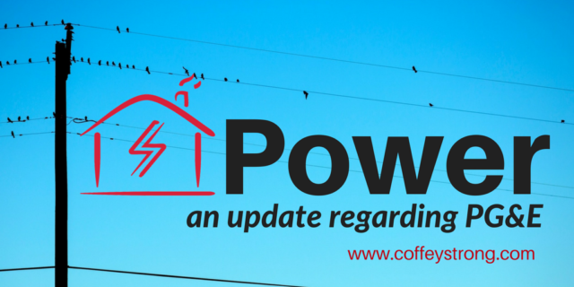 Power update regarding PG&E