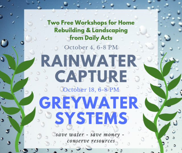 Save Water, Save Money By Designing Home To Retain Rainwater And Use  Greywater
