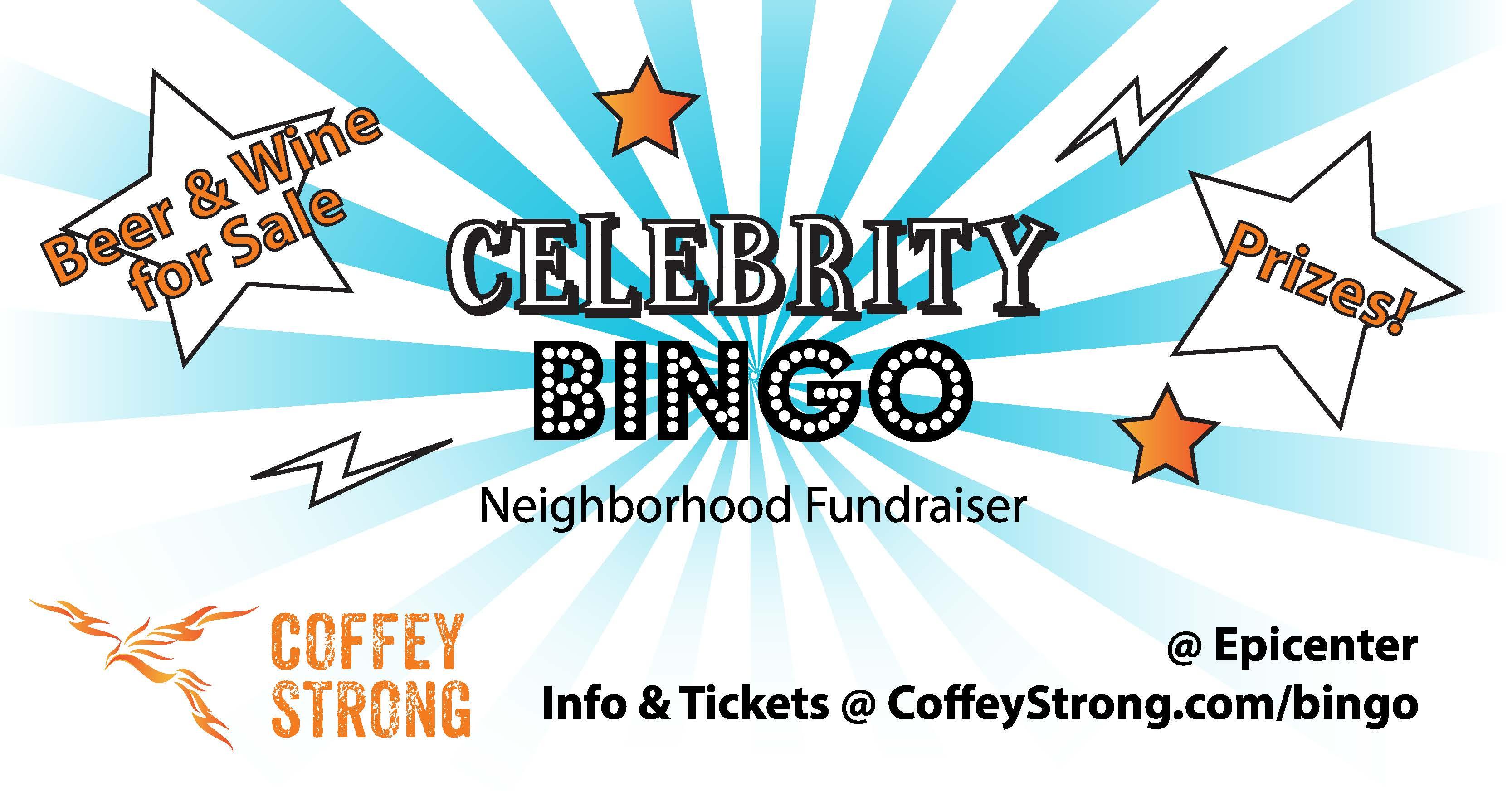Coffey Strong Celebrity Bingo