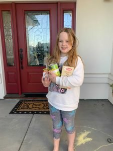 Coffey Park 3rd Grader inspires neighbors to give
